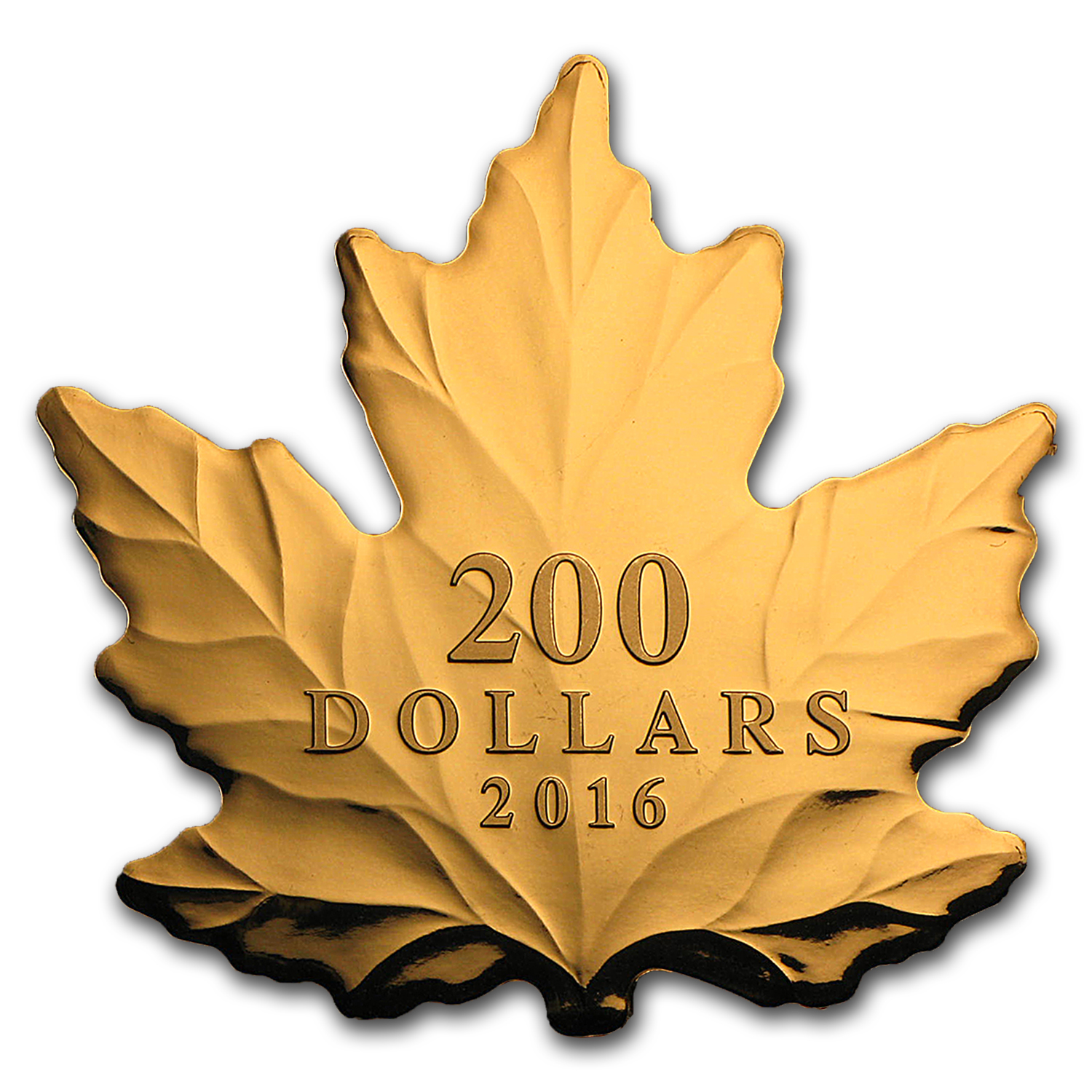 2016 Canada 1 oz Proof Gold $200 Maple: Nature's Purest Form